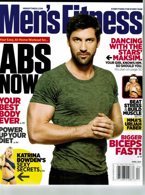 Men's Fitness March 2012